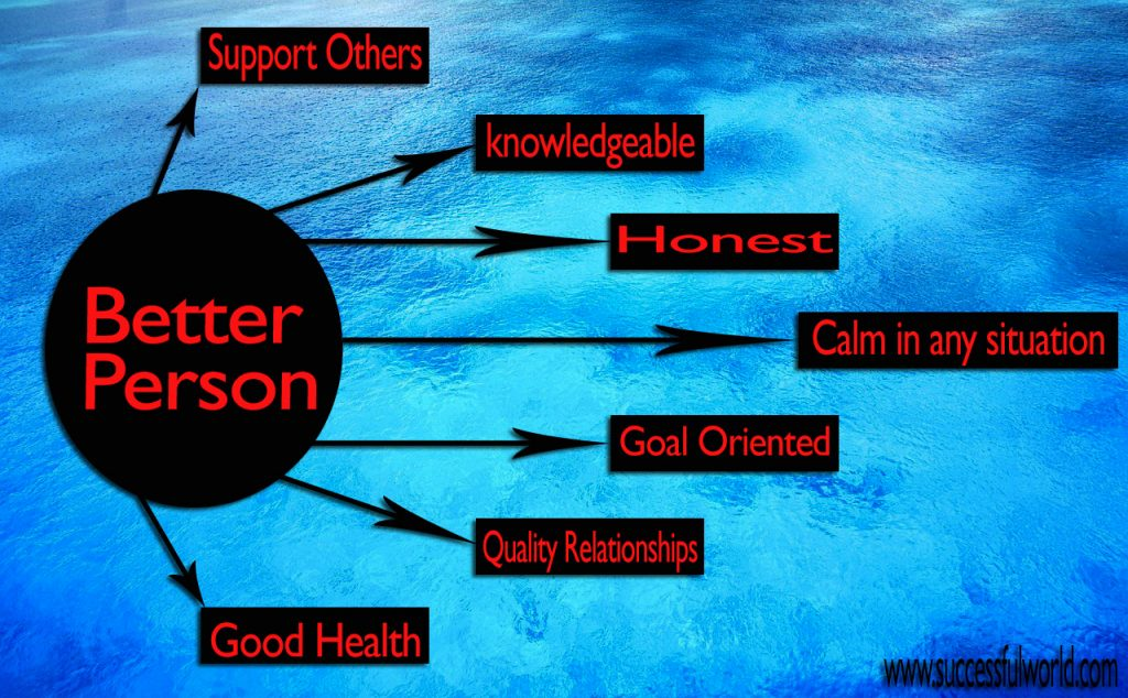 how to become a better person in no time