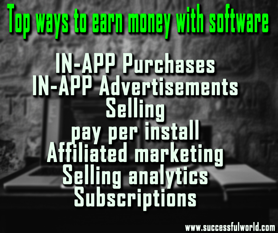 earn money with software
