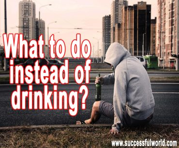 What to do instead of drinking